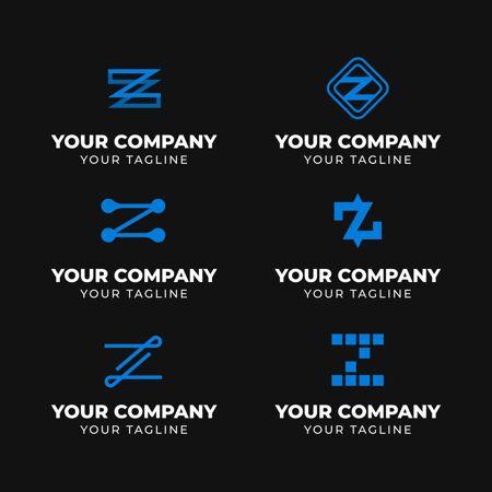 平面设计z字母标志收集