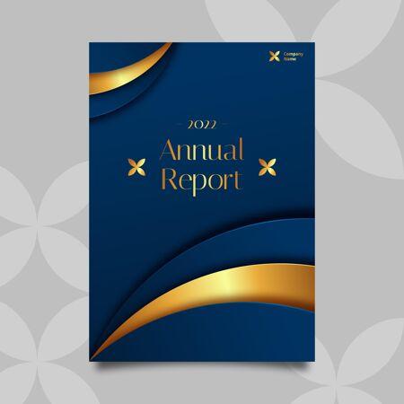 金碧辉煌的年度报告