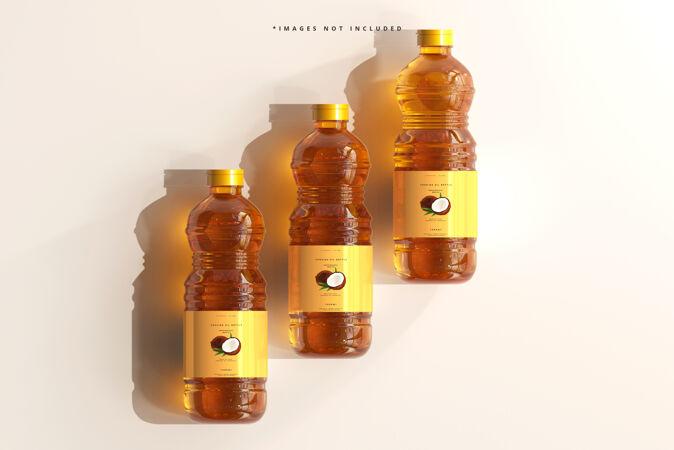 食用油瓶模型