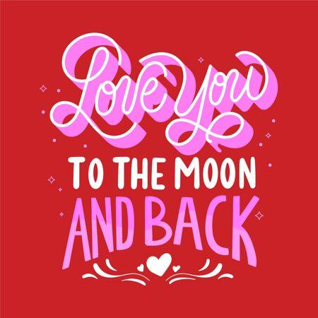 爱你的月亮和背面刻字