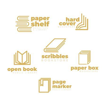 平面设计书籍标志包